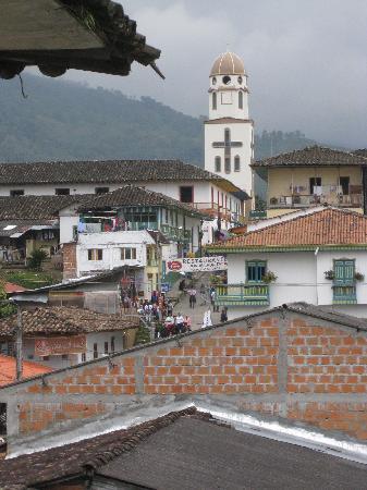 Ciudad de Segorbe Hostel Salento: view from 2nd floor balcony