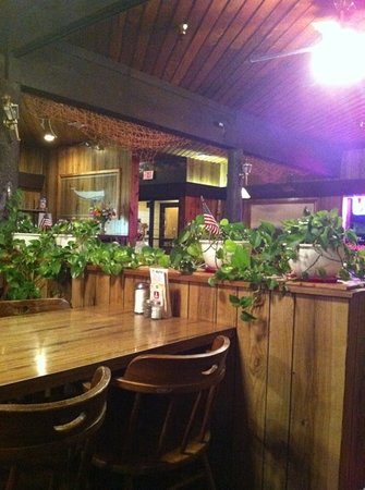 Troller Restaurant & Lounge : at least they have real plants
