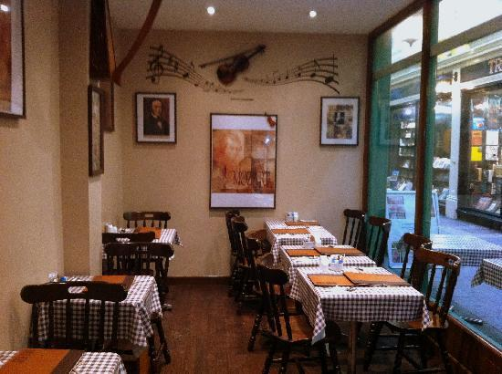 Restaurant Minuet: Cosy and friendly atmosphere