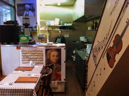 Restaurant Minuet: Kitchen and Chef