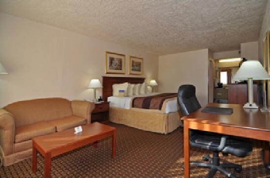 BEST WESTERN Hillside Inn: Rooms