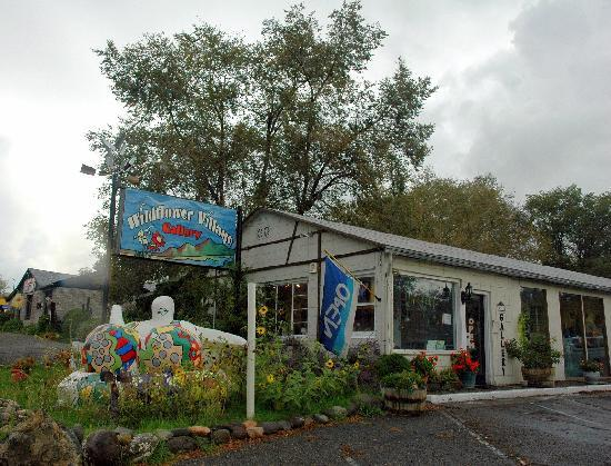 Wildflower Village B&B : The Open Door Art Gallery on Site