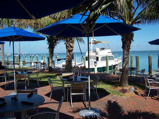 Longboat Key, FL: Dry Dock patio