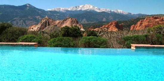 Good Garden Of The Gods Collection: Relax In Our Infinity Pool. Pictures Gallery