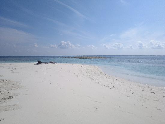 Bathala Island: una spiaggia di Bathala