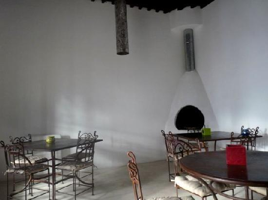 Riad El Maati : salle à manger