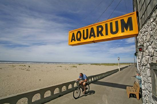 Seaside Aquarium along 'The Prom' in Seaside, Oregon
