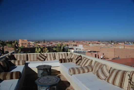 Dar Mo'da: La città vista dalla terrazza