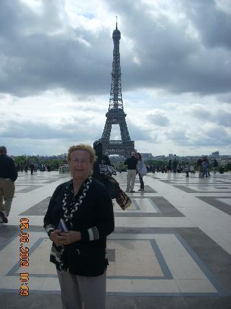 Paris, Frankrike: la torre eifel
