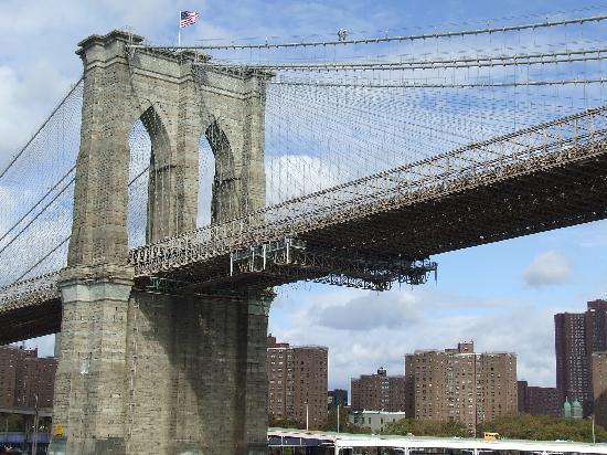 Salisbury Hotel: Brooklyn Bridge from the circle line tour