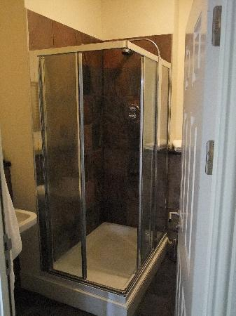 The Chateau & Wye House Suites: The shower for 2!