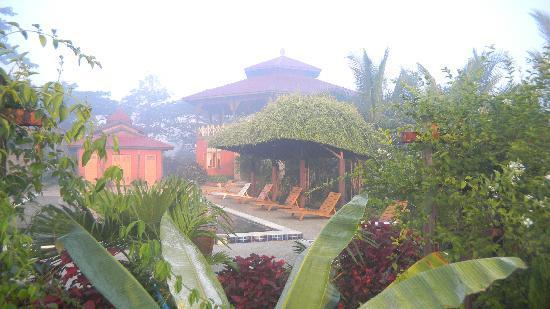 Princess Garden Hotel: General View in the Mist