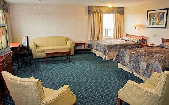 Amherst Wandlyn Inn : A Premium Family Suite