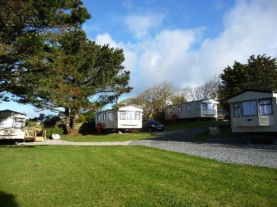 Lower Treave Caravan and Camping Park: Lower Treave Holiday Caravan Hire