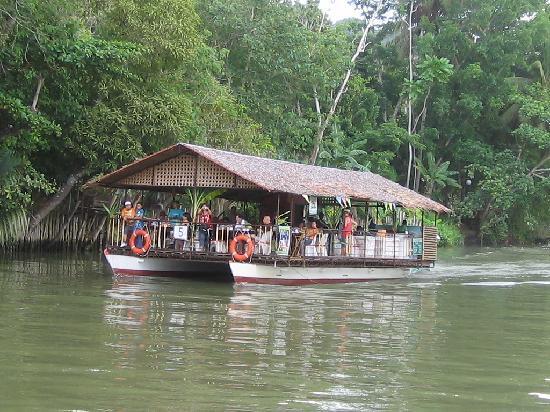 Dumaluan Beach Resort 2: Lunch while cruising Loboc River