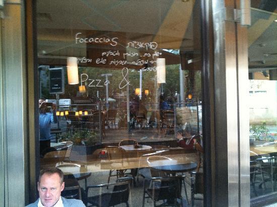 cafe-hillel : Terrasse