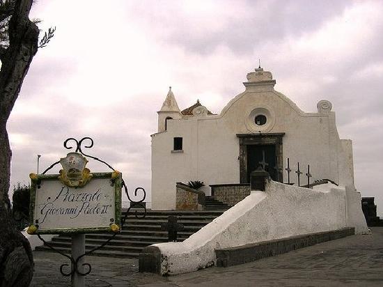 Hotel Punta del Sole: chiesa del soccorso