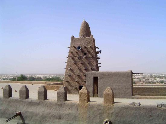 Sahara Passion: One of the famous mosques in Timbuktu.