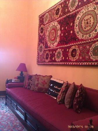 Talisman Hotel de Charme: relax area