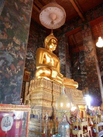 Sourire @ Rattanakosin Island: Temple de la balançoire géante