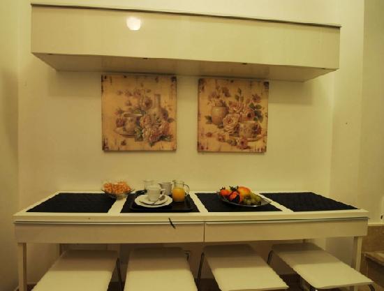 Roman Terrace: Buffet