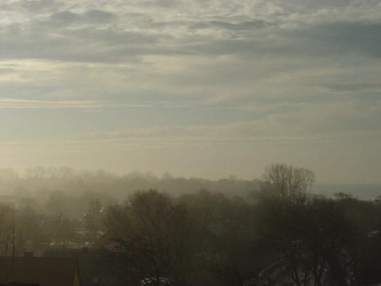 TheGrand Ahrenshoop : Morgenstimmung im Januar-Blick aus dem Zimmer