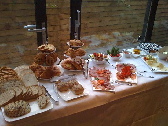 The Hide London: Breakfast spread