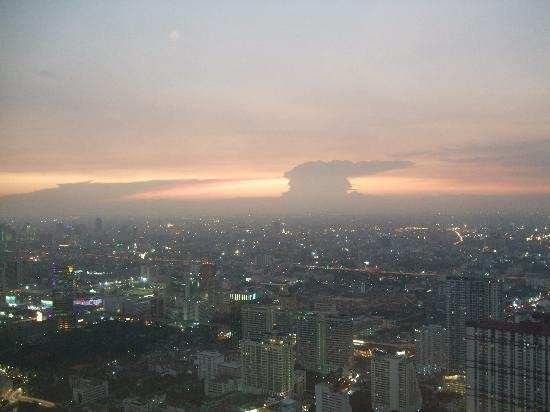 Baiyoke Sky Hotel: view from the room 73rd