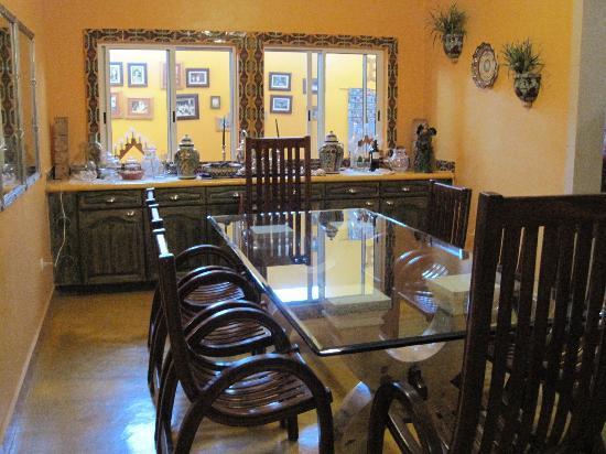 Cascadas de Merida: Site of delicious breakfasts!