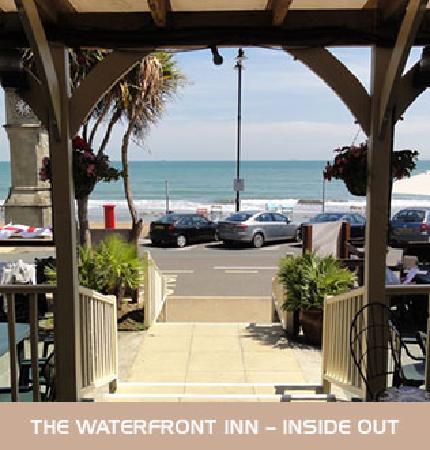 The Waterfront Inn: great sea views over Sandown Bay