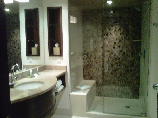 Blue Chip Casino Hotel Spa: great bathroom!