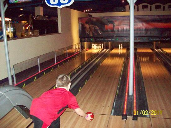 New Mini Bowling Alley At The Arcade Picture Of Kalahari