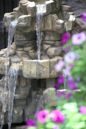 Wellesley Manor Boutique Hotel: Waterfall