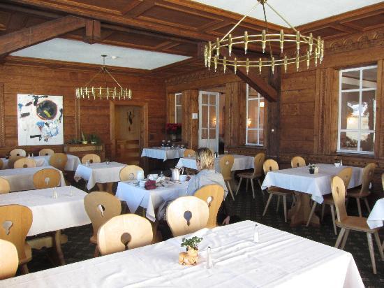 LA SALA DA PRANZO - Bild von Hotel Schweizerhaus, Maloja - TripAdvisor