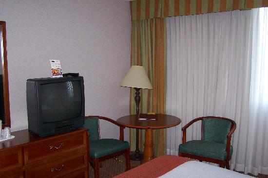 Clarion Hotel: Sitting area