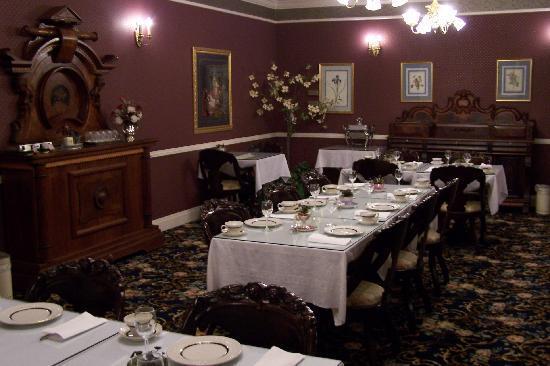 Kingsley Inn: Breakfast room