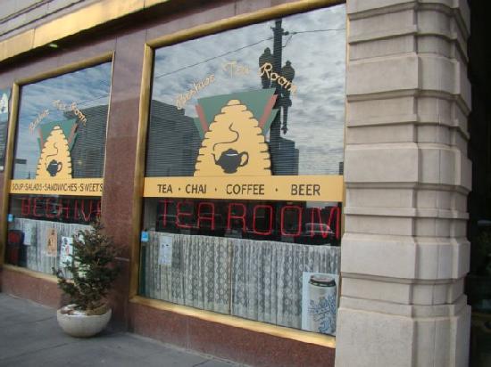 Beehive Tea Room and Wedding Library: Outside the Tea Room