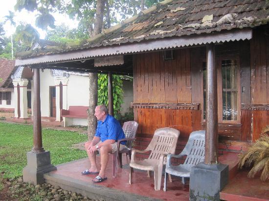Pooppallys Heritage Home: my Dad on the bungalow verandah