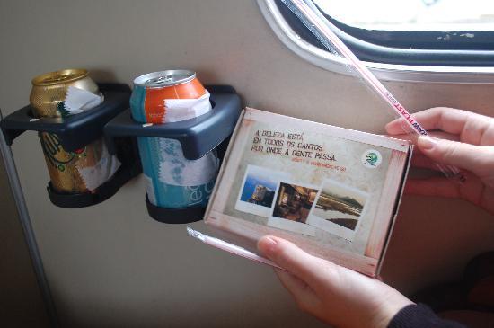 Serra Verde Express: desayuno del tren