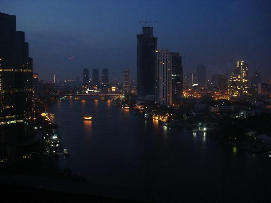 Room view at night