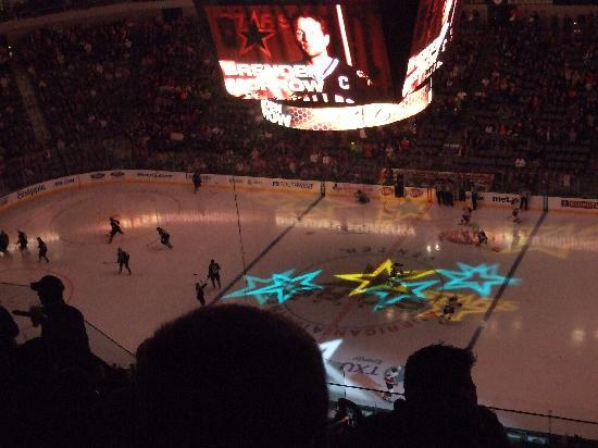 American Airlines Center: NHL試合観戦
