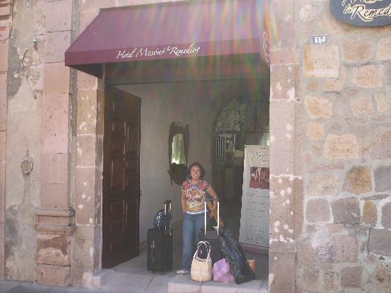 Hotel Meson de los Remedios: La entrada de El Mesón de los Remedios