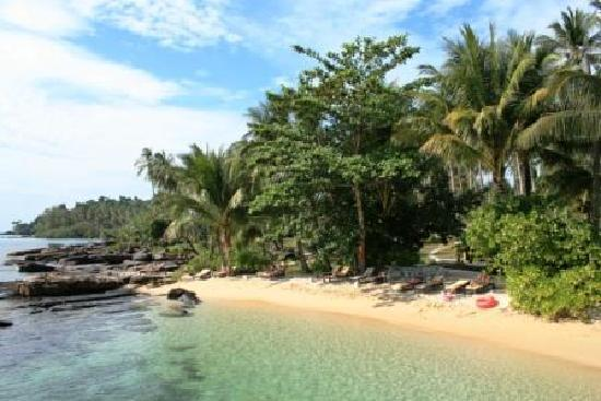 Shantaa Koh Kood: private beach - small but beautiful