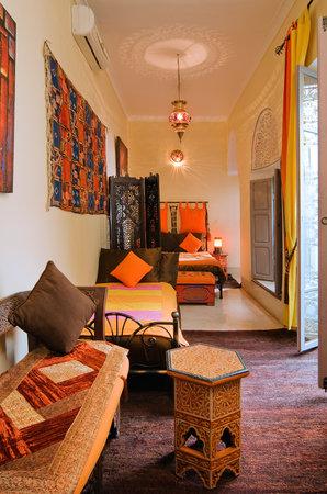 Riad Dar Eliane: Bedroom Jawhara