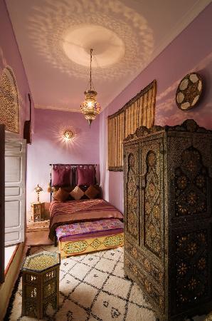 Riad Dar Eliane: Bedroom Nisrine