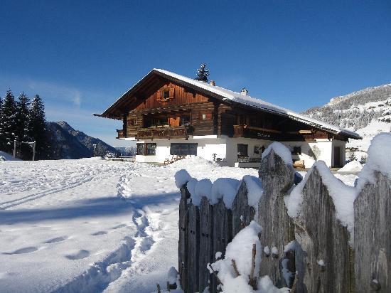 Mountain Chalet Pra Ronch: dopo una nevicata