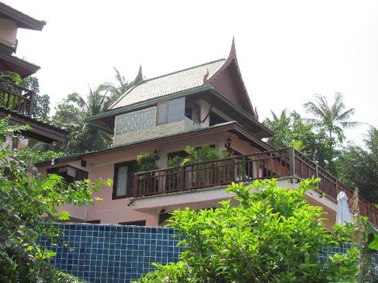 Sandalwood Luxury Villas: Jasmine villa - balcony