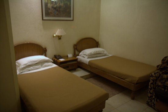 Hotel Alka Premier: Room is reasonably sized but with a mouldy smell