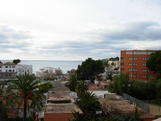 Valentin Reina Paguera: la vue du grand balcon