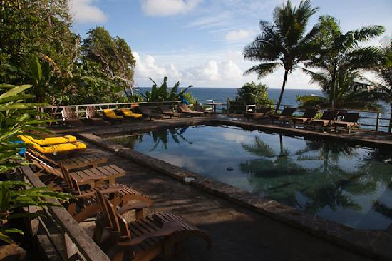 Jungle Bay, Dominica: Pool